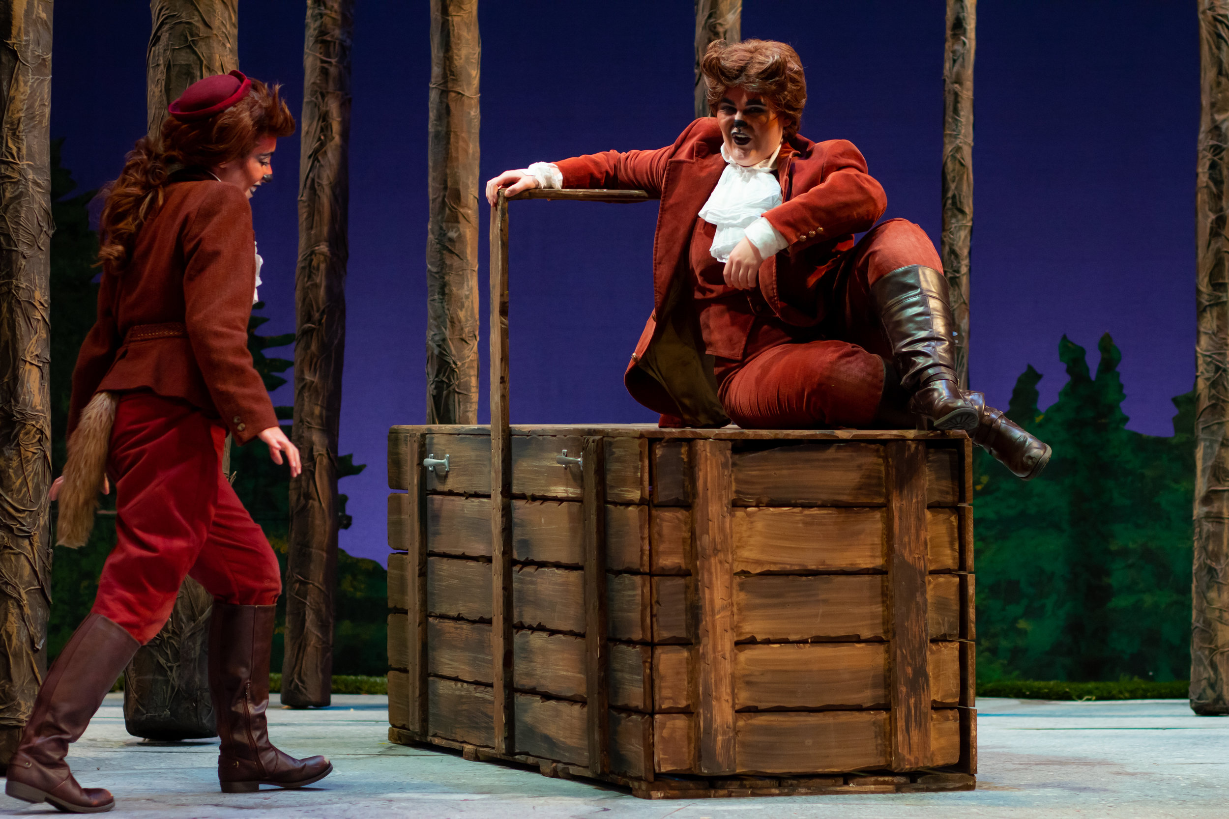 LSU Opera: The Cunning Little Vixen  Role: Vixen