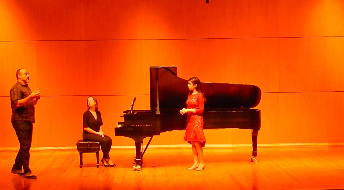 Masterclass with Giovanni Reggioli  Accompanist: Elena Lacheva