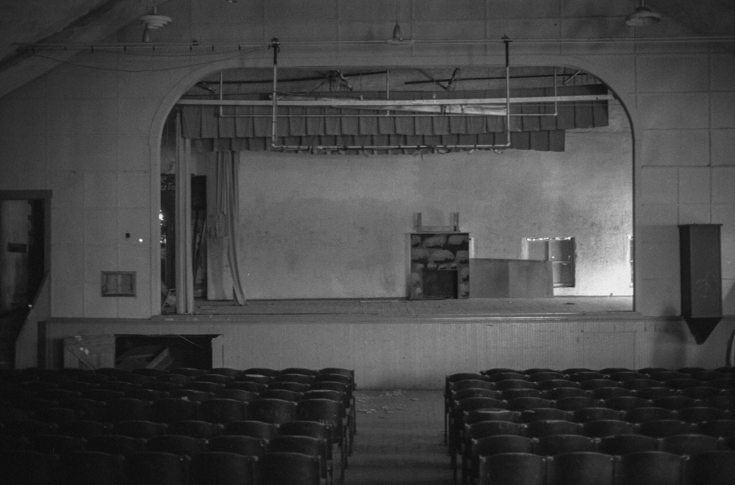James Dean's High School Theater, Fairmount, IN 1990 The starting place for Dean's Acting Career.