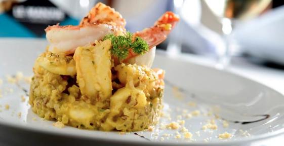 Jambalaya de camarão