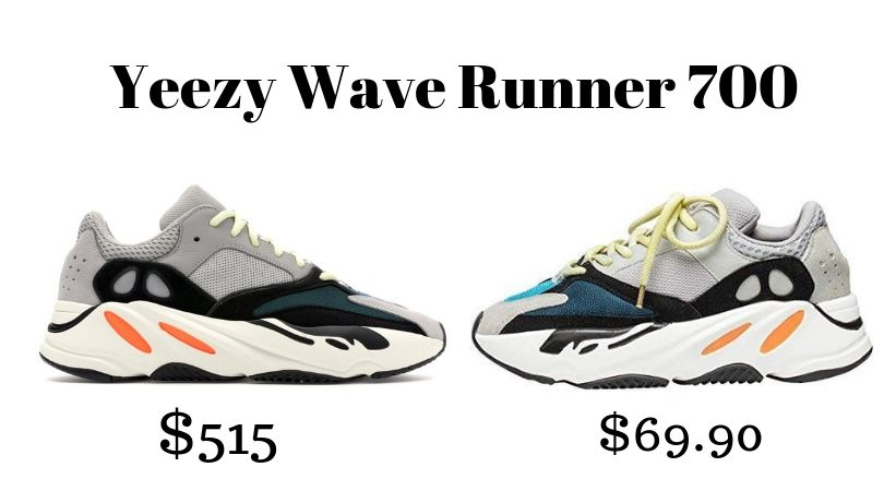 Yeezy Wave Runner 700 Original: Currently Out of Stock  Yeezy Wave Runner 700:  https://amzn.to/2XkDacR
