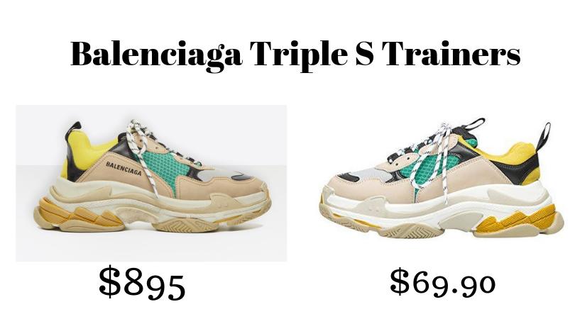 Designer Sneaker Dupes — Bria Jones Blog