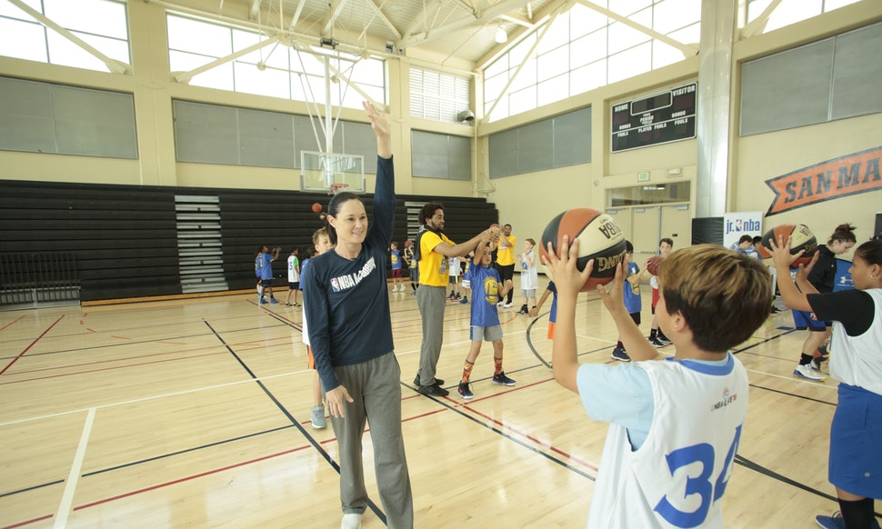 The NBA's jennifer azzi wants young female athletes to have the role models she never did - Bustle, November 1, 2018 -