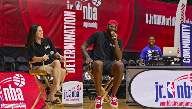 JR. NBA LAUNCHES 'HER TIME TO PLAY' TO SUPPORT GIRLS IN BASKETBALL - SPORTS ILLUSTRATED, October 9, 2018 -