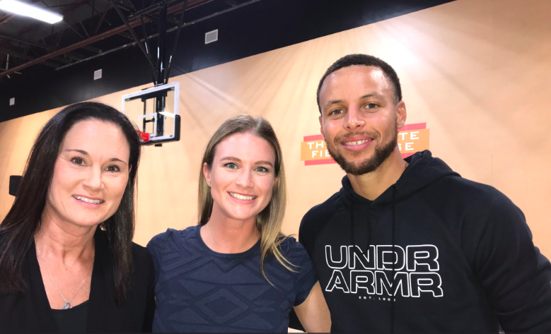 Stephen Curry, Warriors host girls-only basketball camp - Sporting News, August 17, 2018 -
