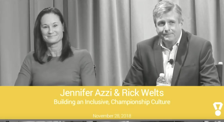 Talks at Google: Jennifer Azzi & Rick Welts on Building an Inclusive, championship culture -