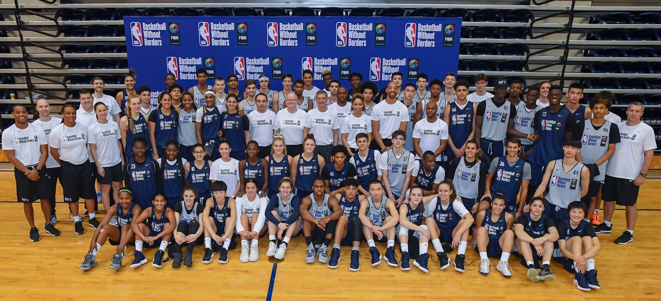 2019 NBA All star Fifth Annual basketball without borders global camp -