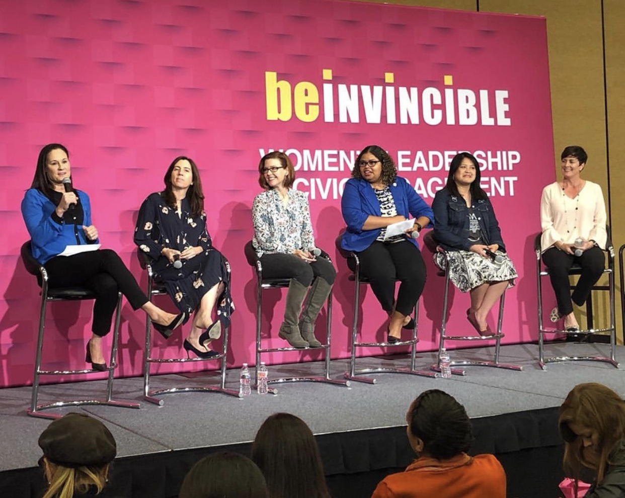 Be Invincible- A women's summit hosted by San Francisco Mayor, London breed -