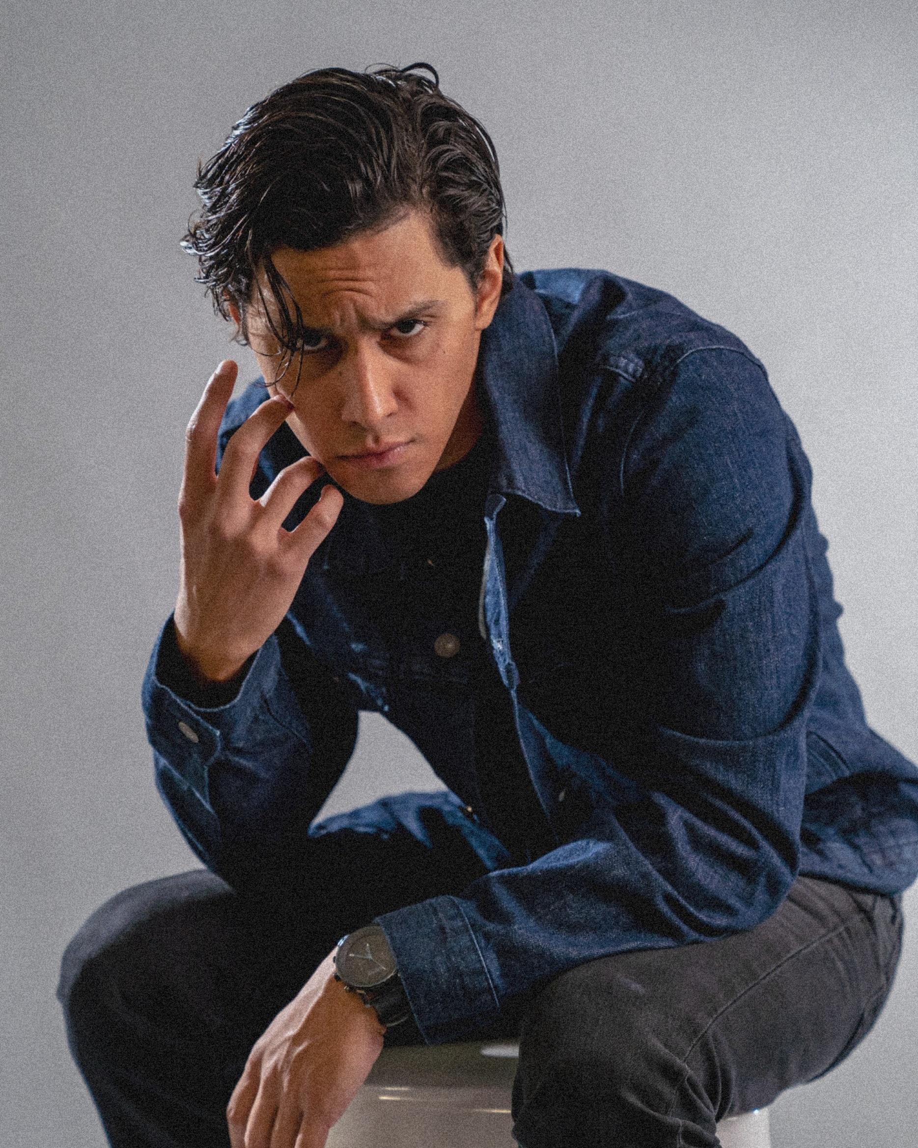 Victor Muñoz - Film Look | Slicked Back Hair