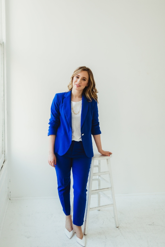 Cami Farey, web designer and strategist at Camille Farey Design