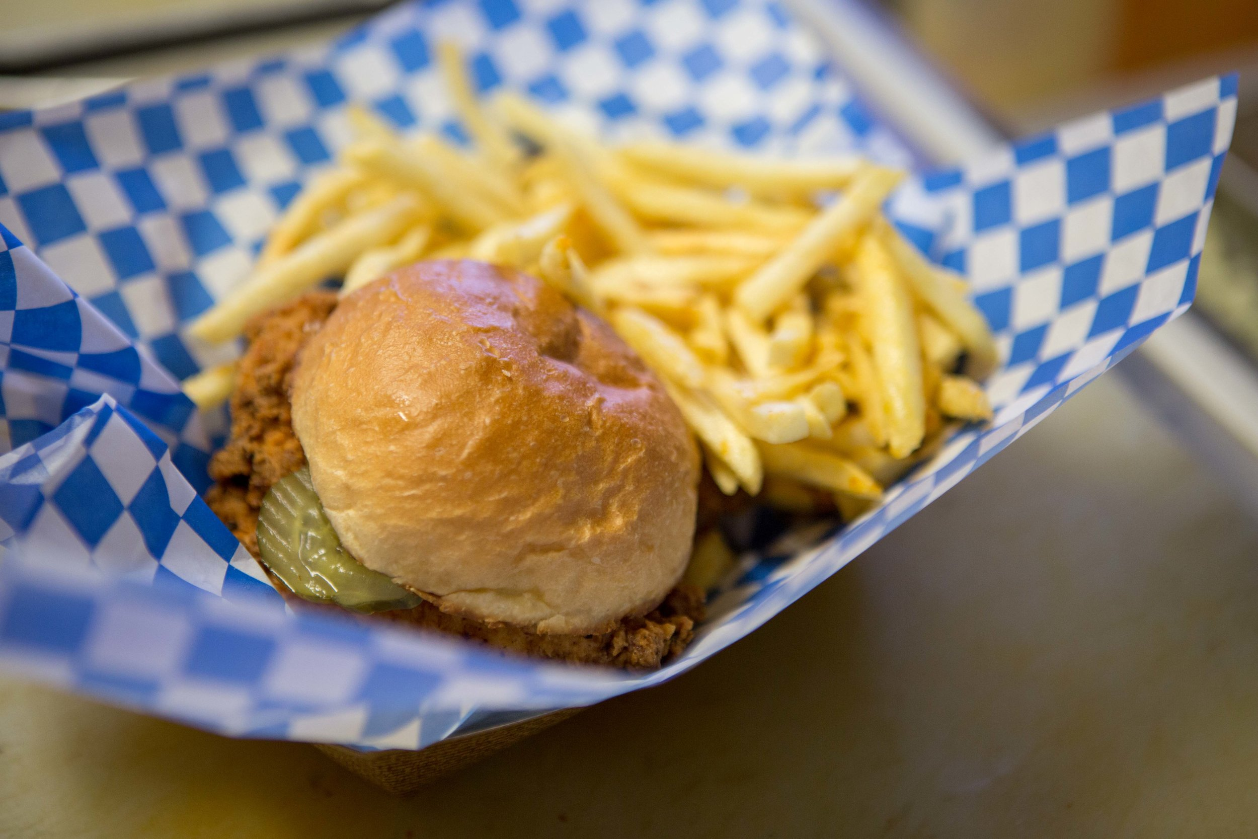 The Tin Pig food card - the podski