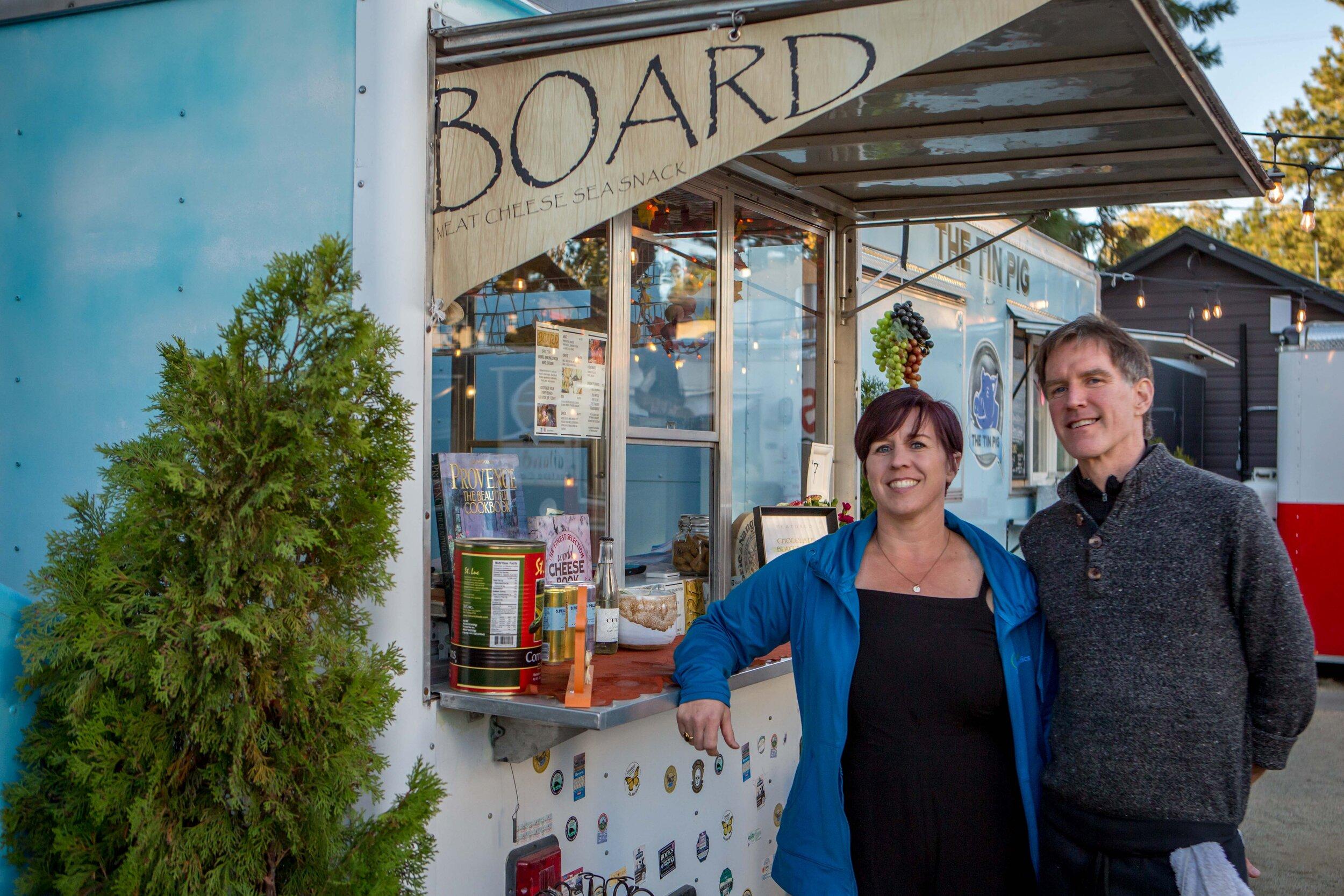 Board - Food Cart - The Podski