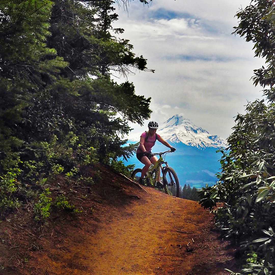 Mt Hood Full Day Tours - Big rides and big views for intermediate to advanced riders.