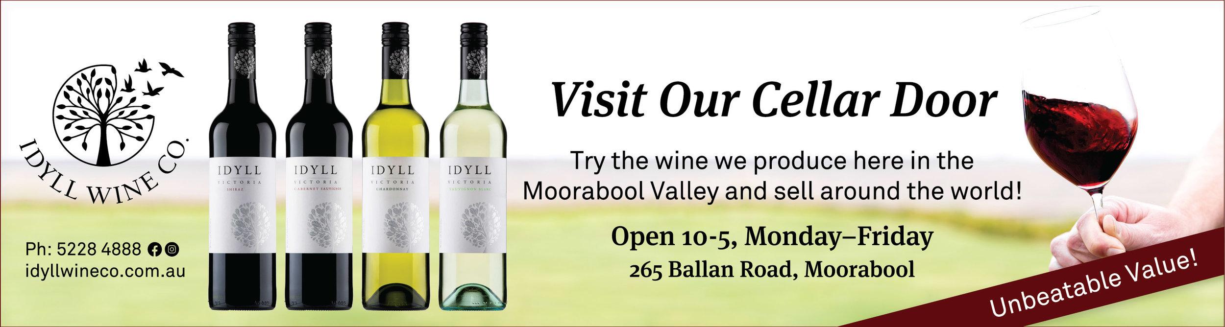 Idyll Wine Co Visit Our Cellar Door