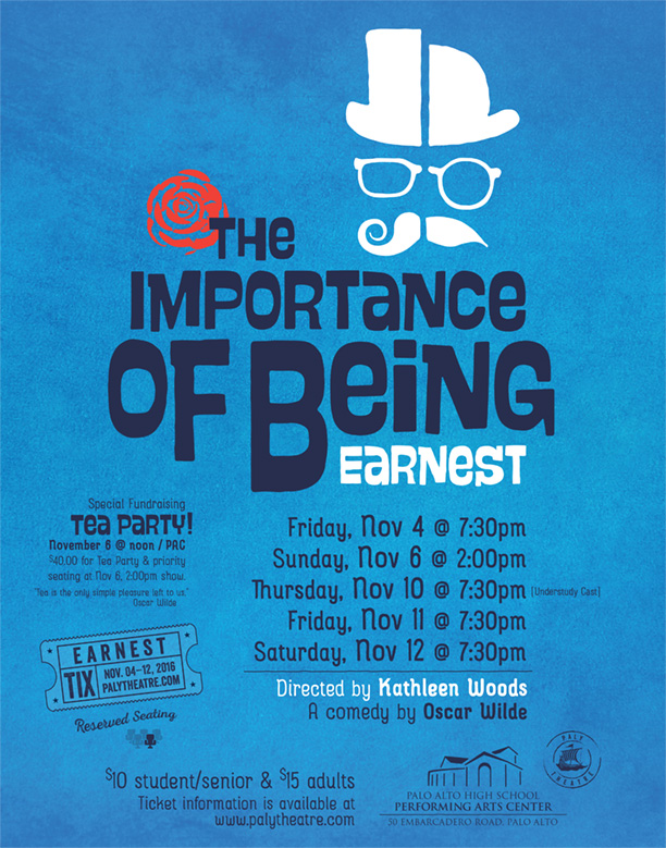 The Importance of Being Earnest - November 2017Production Photos - Nov 3Production Photos - Nov 6Production Photos - Understudy CastCast List