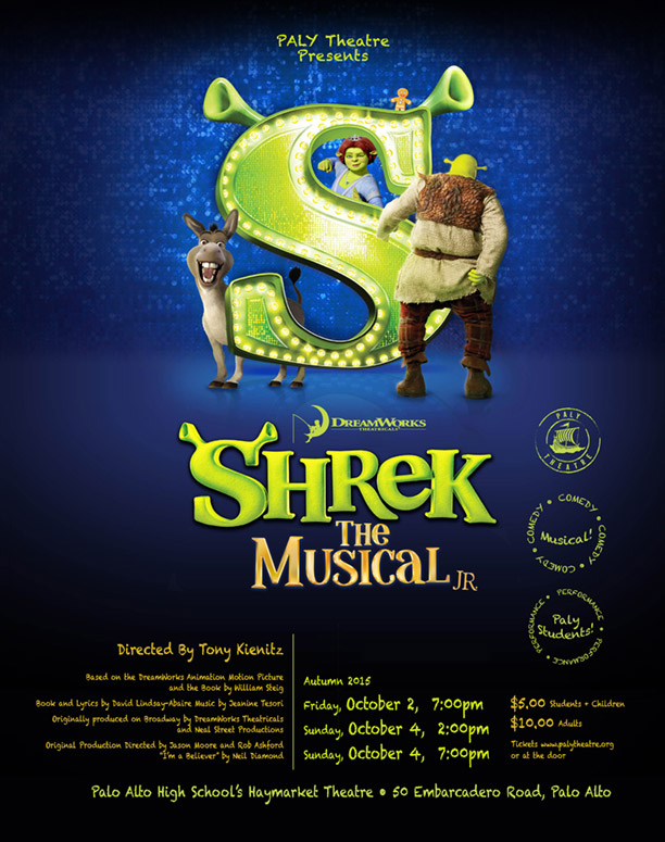 Shrek The Musical JR. - October 2015Production Photos - Dress Rehearsal 9/29/2015Production Photos - Preview 10/1/2015Cast List