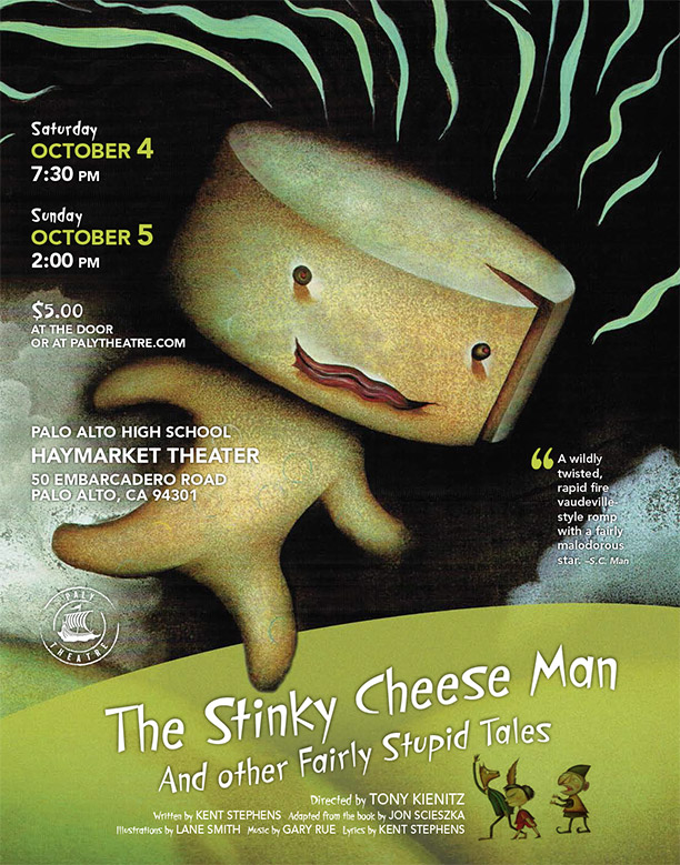 The Stinky Cheese Man - October 2014Production Photos - Dress RehearsalProduction Photos - Performance 10/2/2014Cast List