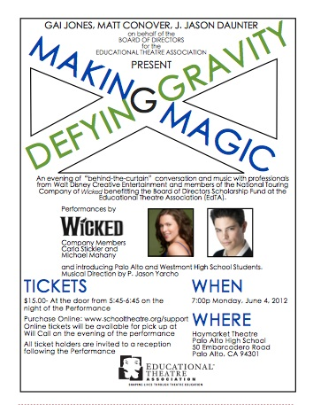 Making Magic, Defying Gravity - June 4, 2012