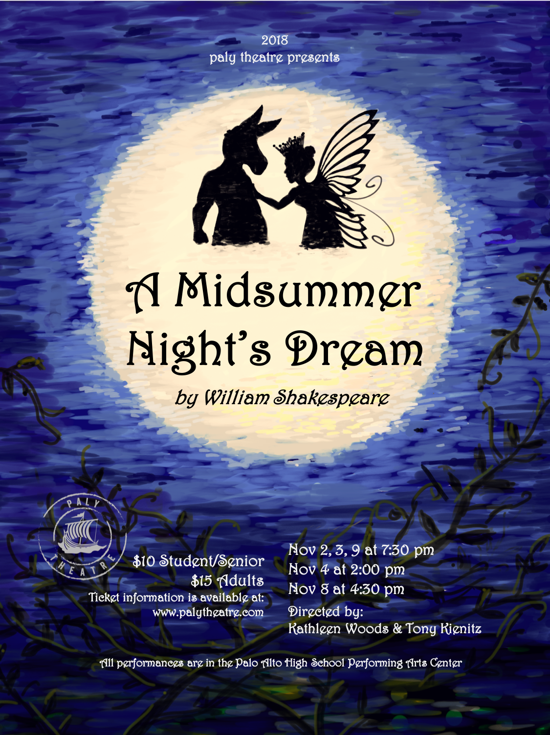 A Midsummer Night's Dream - November 2018Production PhotosCast List