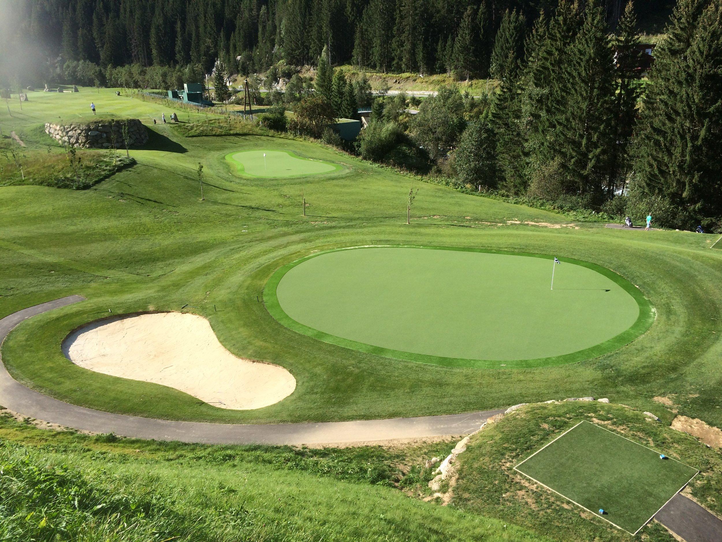 9 Hole Par 3 course -