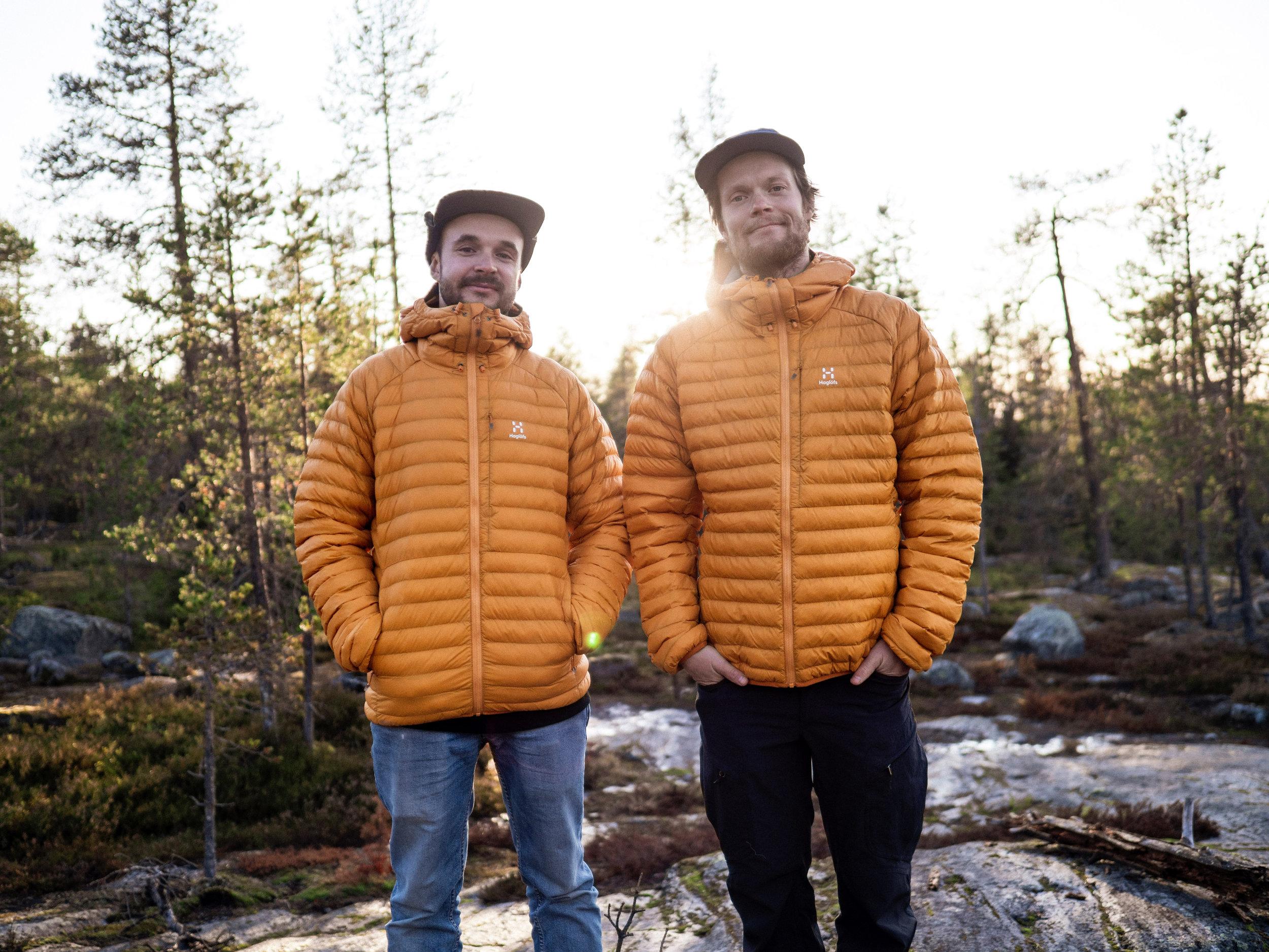 Ville Puominen ja Antti Autti odottavat innolla tulevaa, jo kolmatta kertaa järjestettävää Arctic Weekendiä. Kuva: Simo Vilhunen