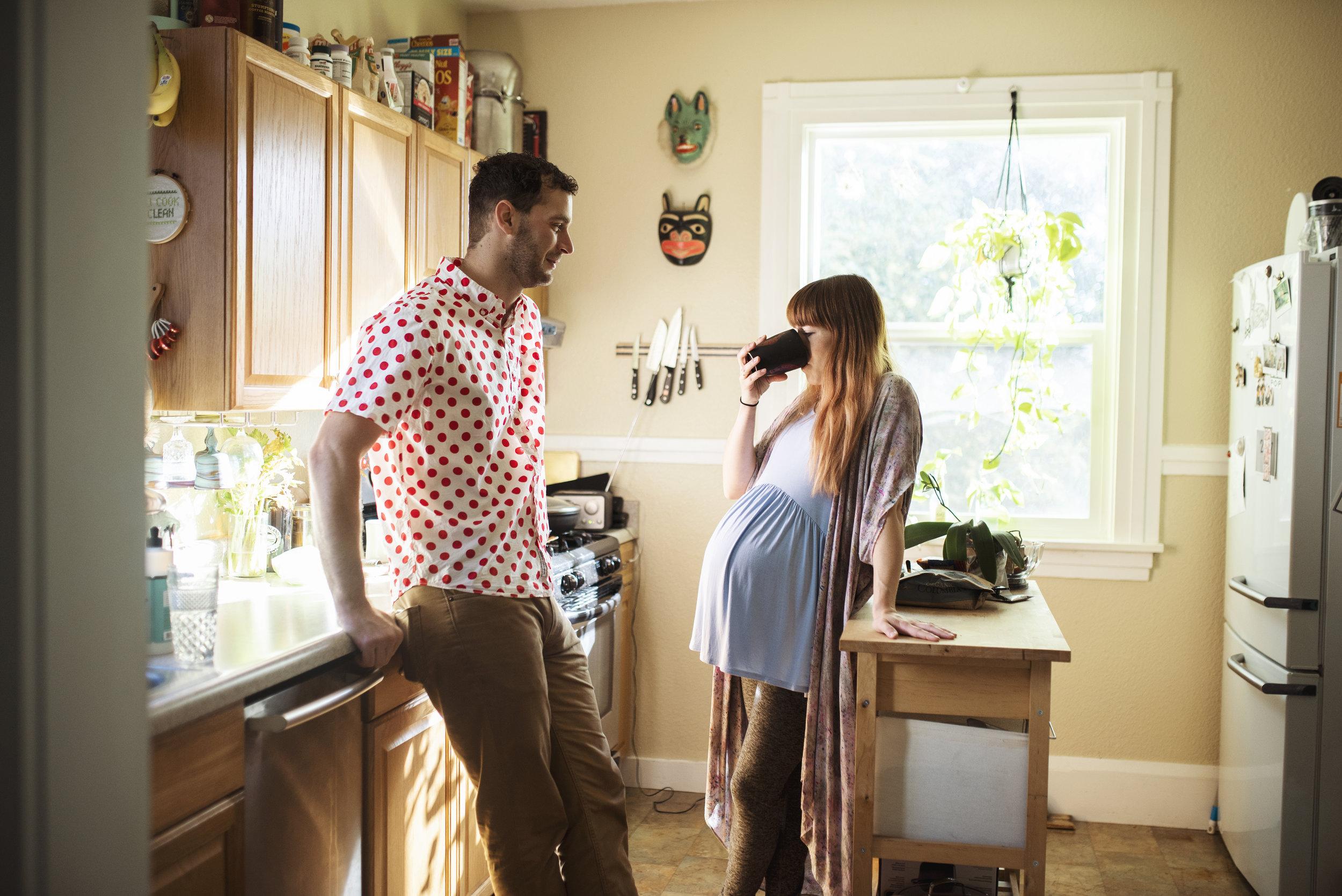 Seattle Pregnancy Photo Shoot