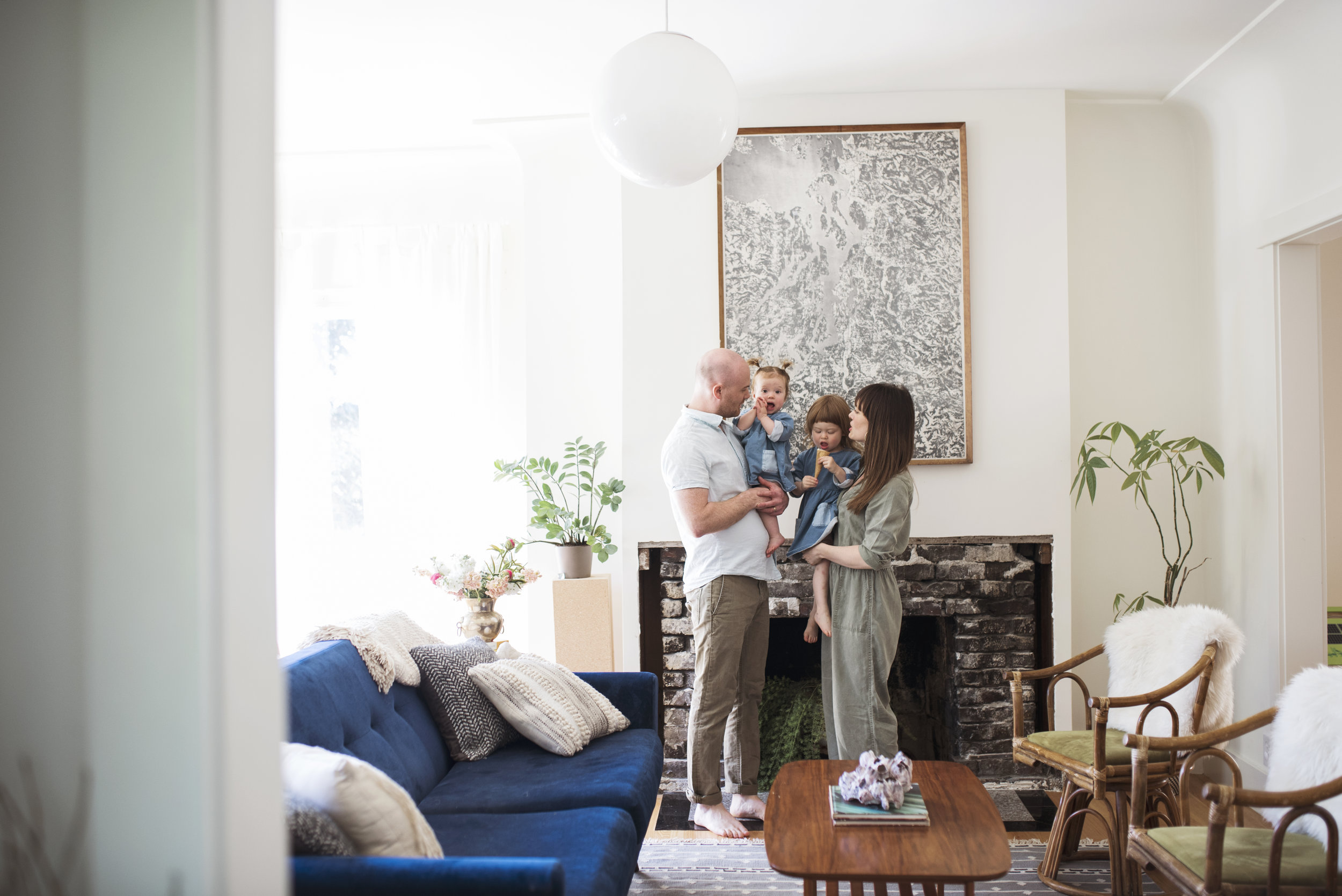 Seattle-family-of-four-photographed-in-their-home