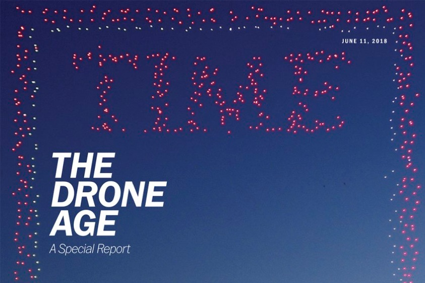 A special report on drones and its technology. - By Alex Fitzpatrick, The 31 of May 2018