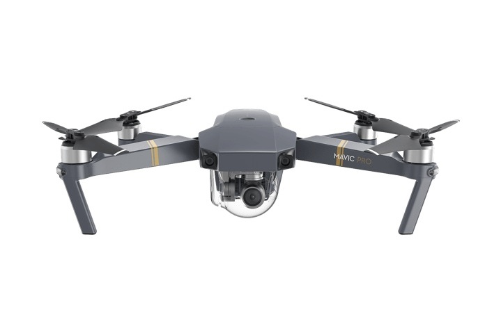MavicPro - The DJI Mavic Pro is a small yet powerful drone that turns the sky into your creative canvas easily and without worry,helping you make every moment an aerial moment. Its compact size hides a high degree of complexity that makes it one of DJI's mostsophisticated flying cameras ever.