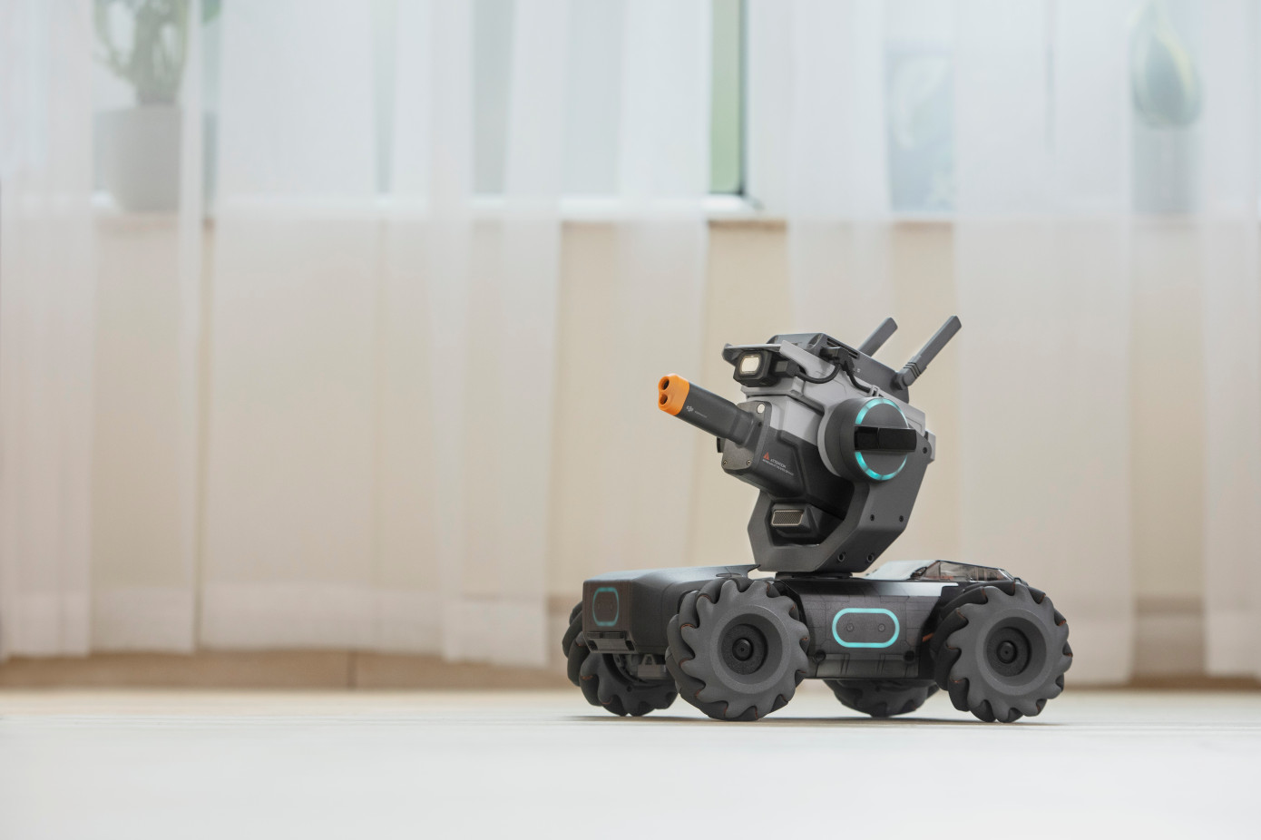 DJI gets into the Robots battle. - By Aerondrone, The 14th of June 2019