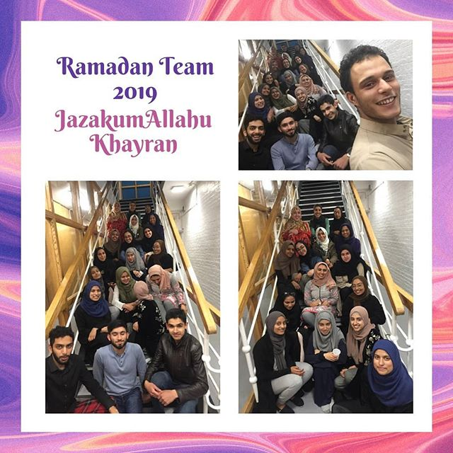 Thank you to our incredible Ramadan Team who have worked tirelessly over the past few months to nurture and create a fantastic Ramadan for the Muslims at Oxford. Ranging from Tafseer classes to free daily iftaars to large community events, they have achieved a huge amount alhamdulillah. May Allah (SWT) reward them all!