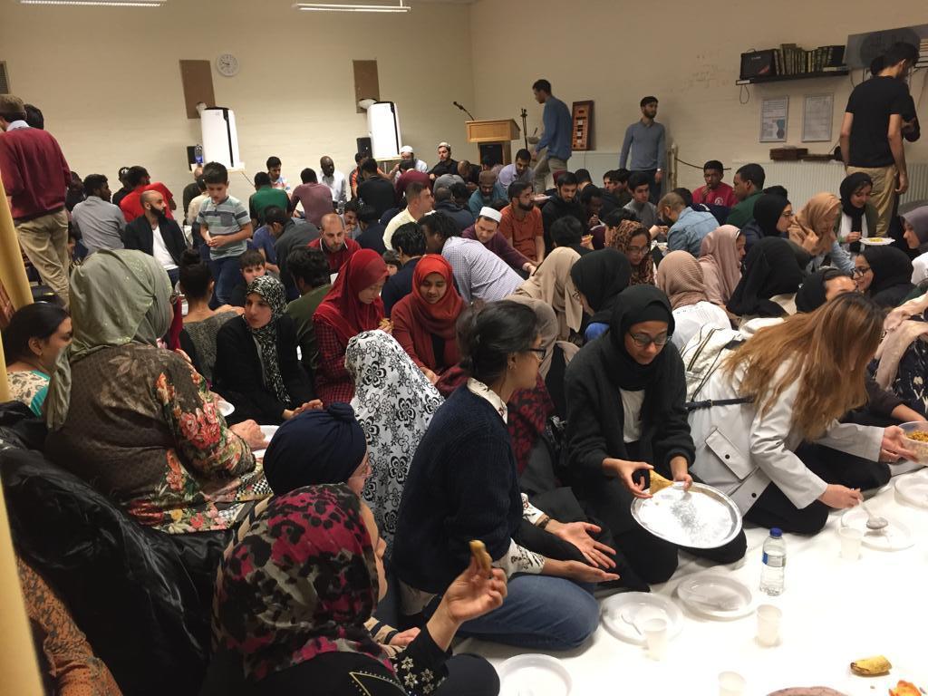 Iftaar in the Prayer Room