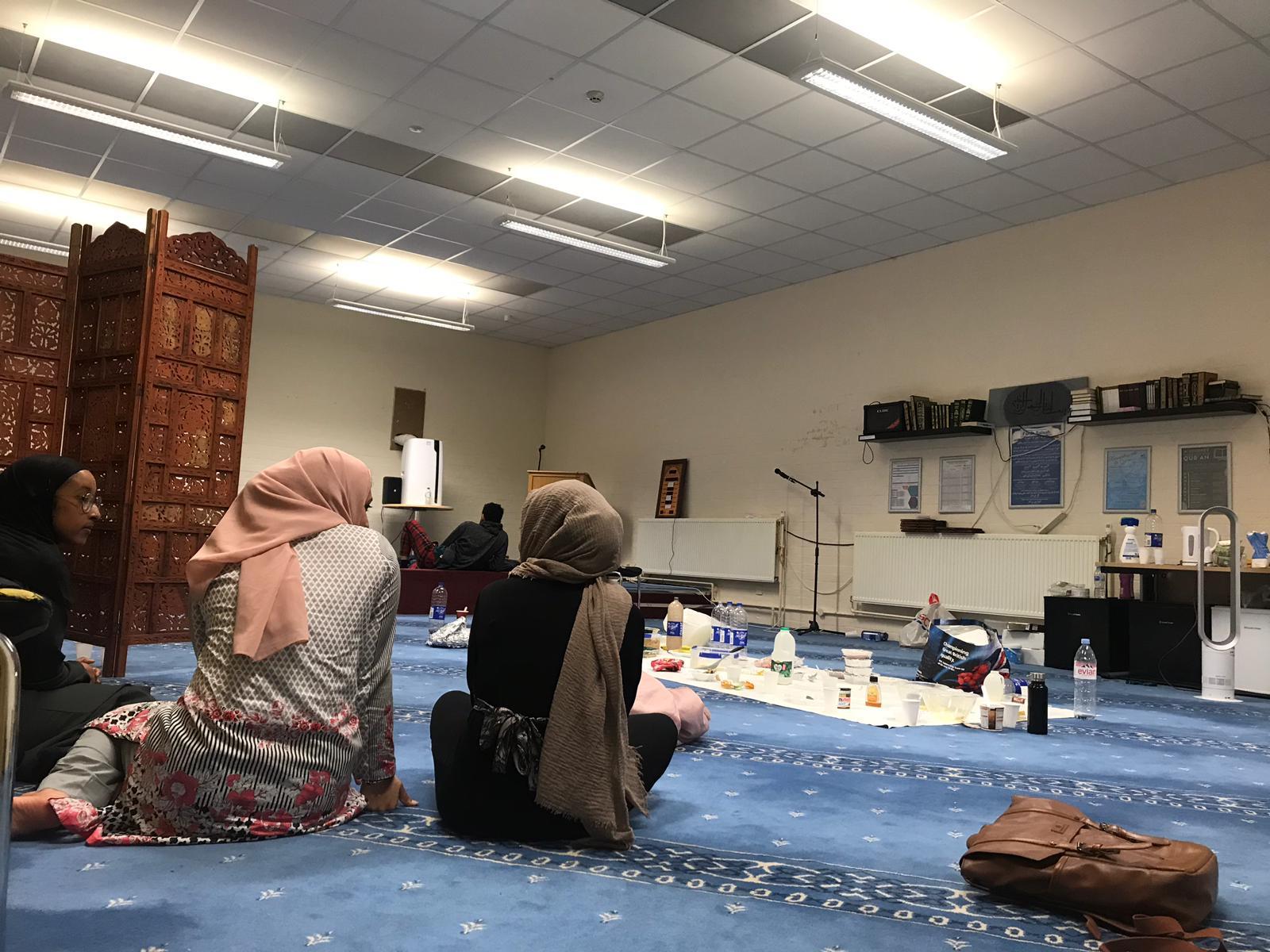 Suhoor in the Prayer Room