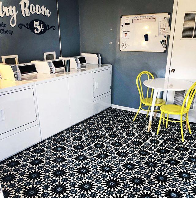 Laundry room refresh @bradleyflats 👌#o4w #atlanta #beltline #apartments