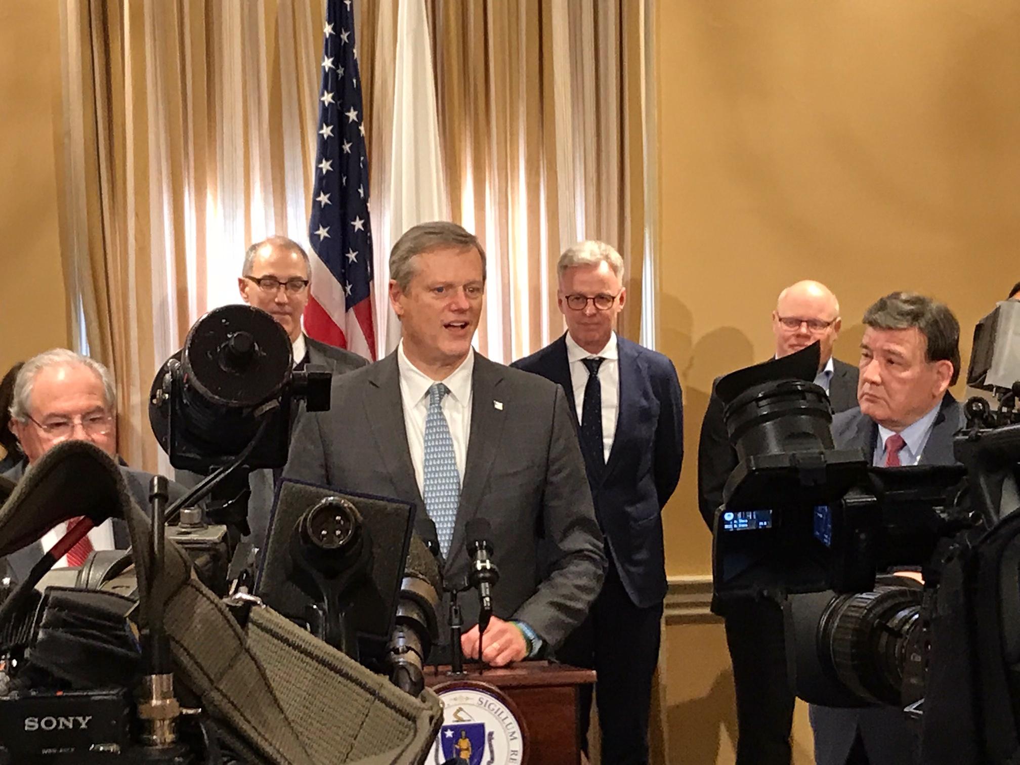 Massachusetts Governor Charlie Baker