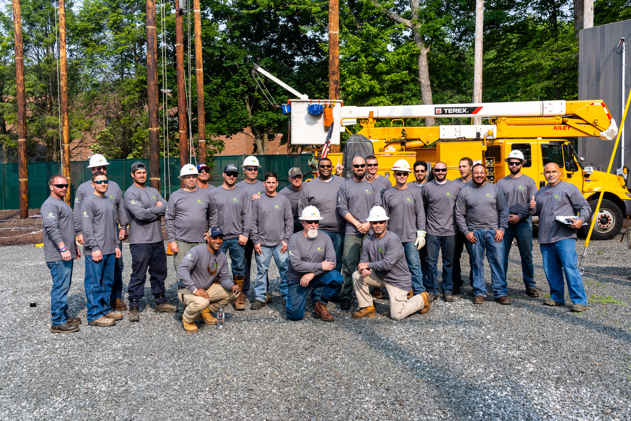 UI line workers at the June in-house rodeo. Line workers from UI, RG&E, CMP and NYSEG make up Team AVANGRID.