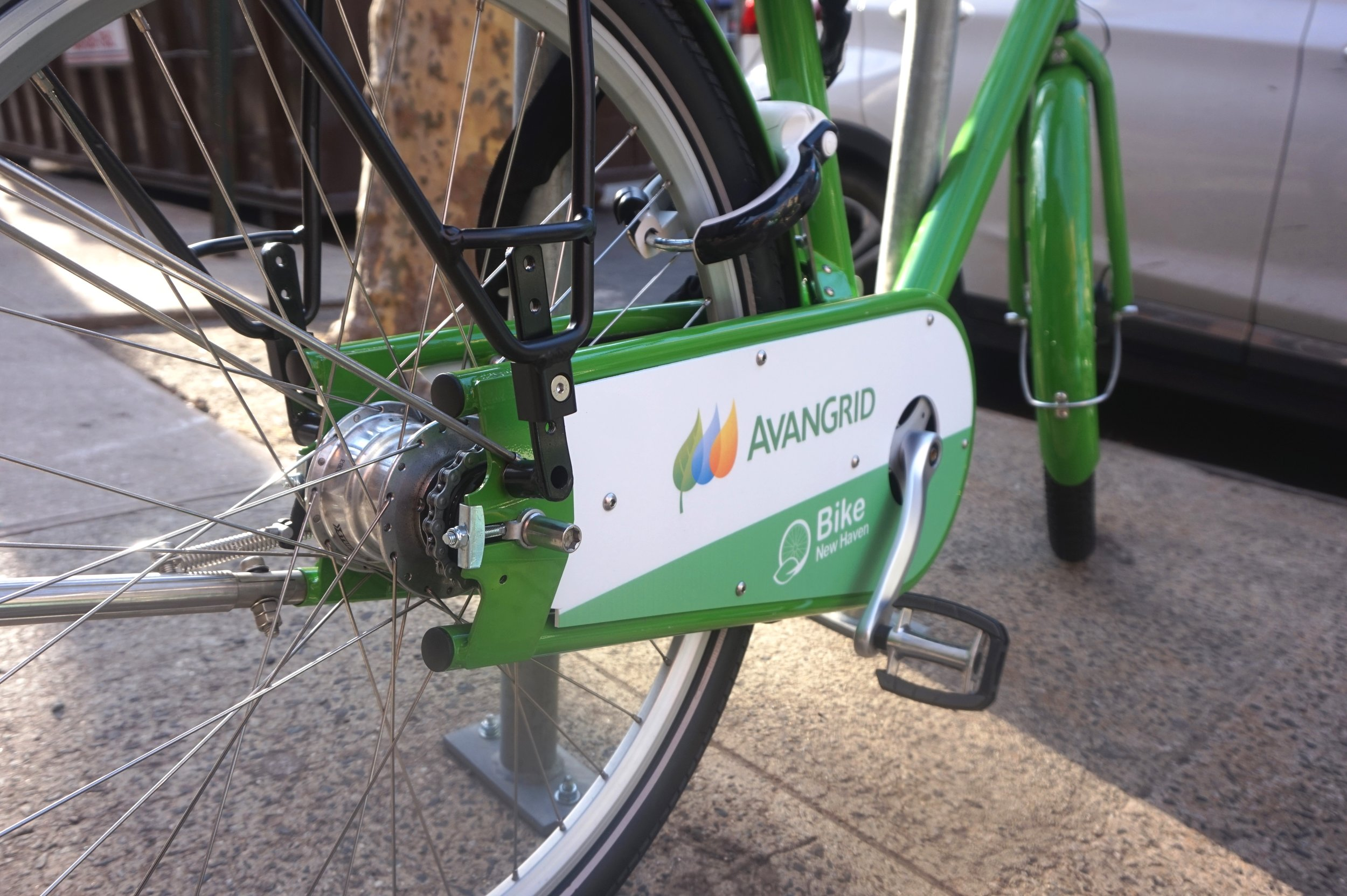 Go green! Let's pedal New Haven!