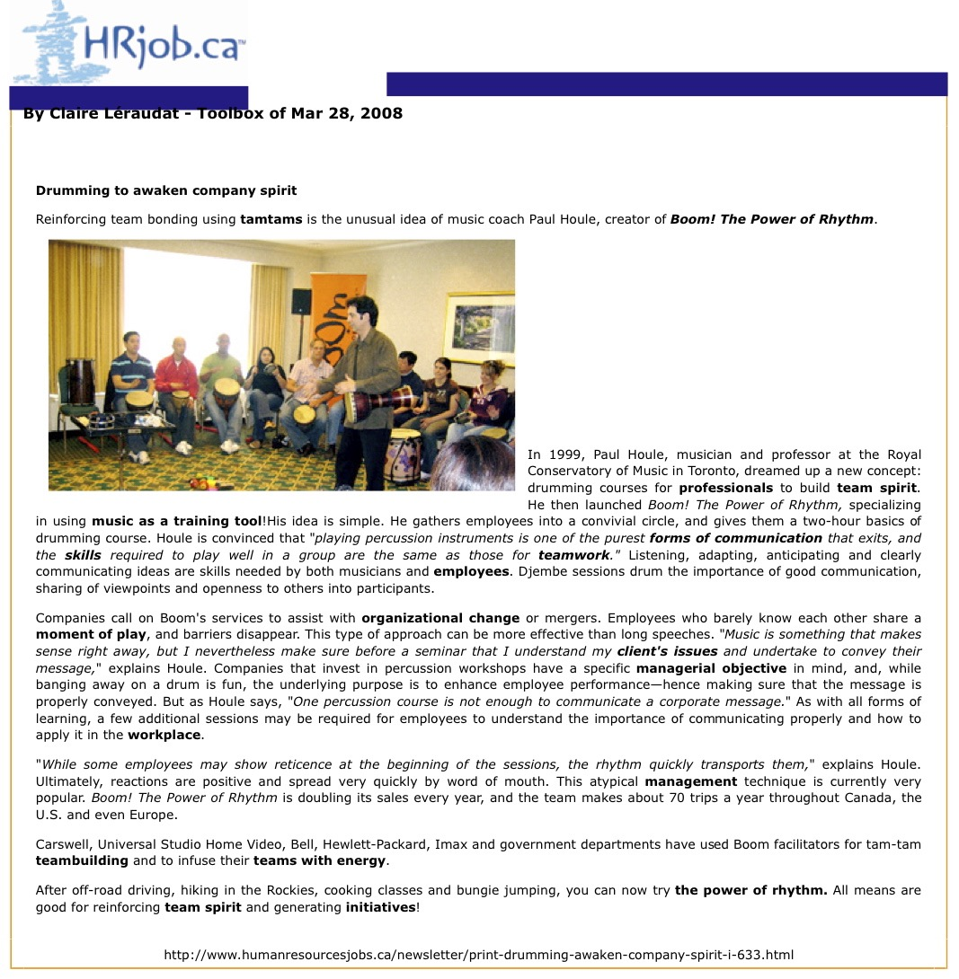 Boom! The Power of Rhythm - Drumming to awaken company spirit - HR Job.ca.jpg