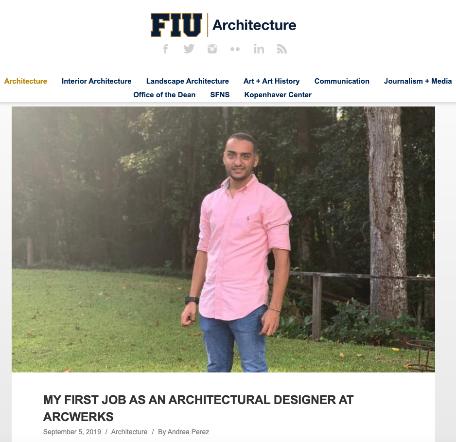 Check out the     FIU CartaNews interview         with team member, Kareem, for more about a typical day at Arcwerks.
