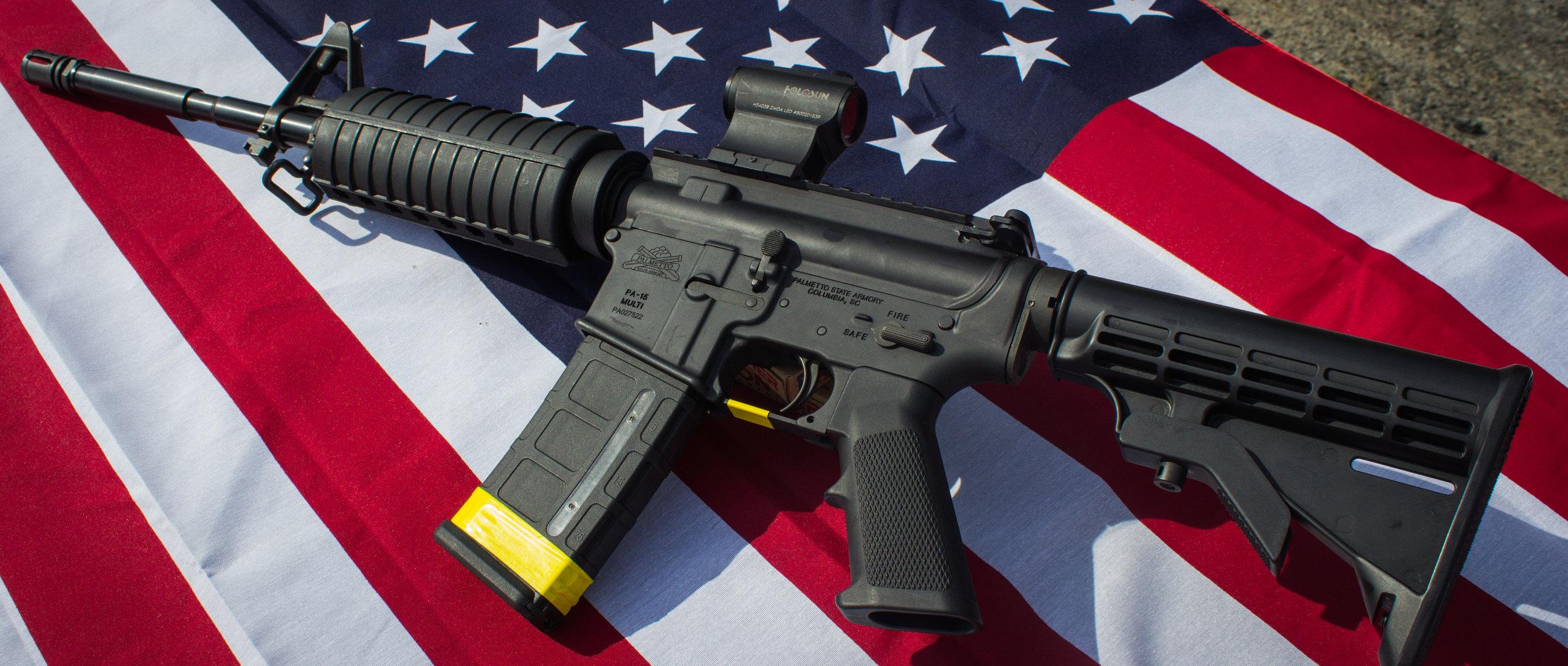 AR-15 BLACK