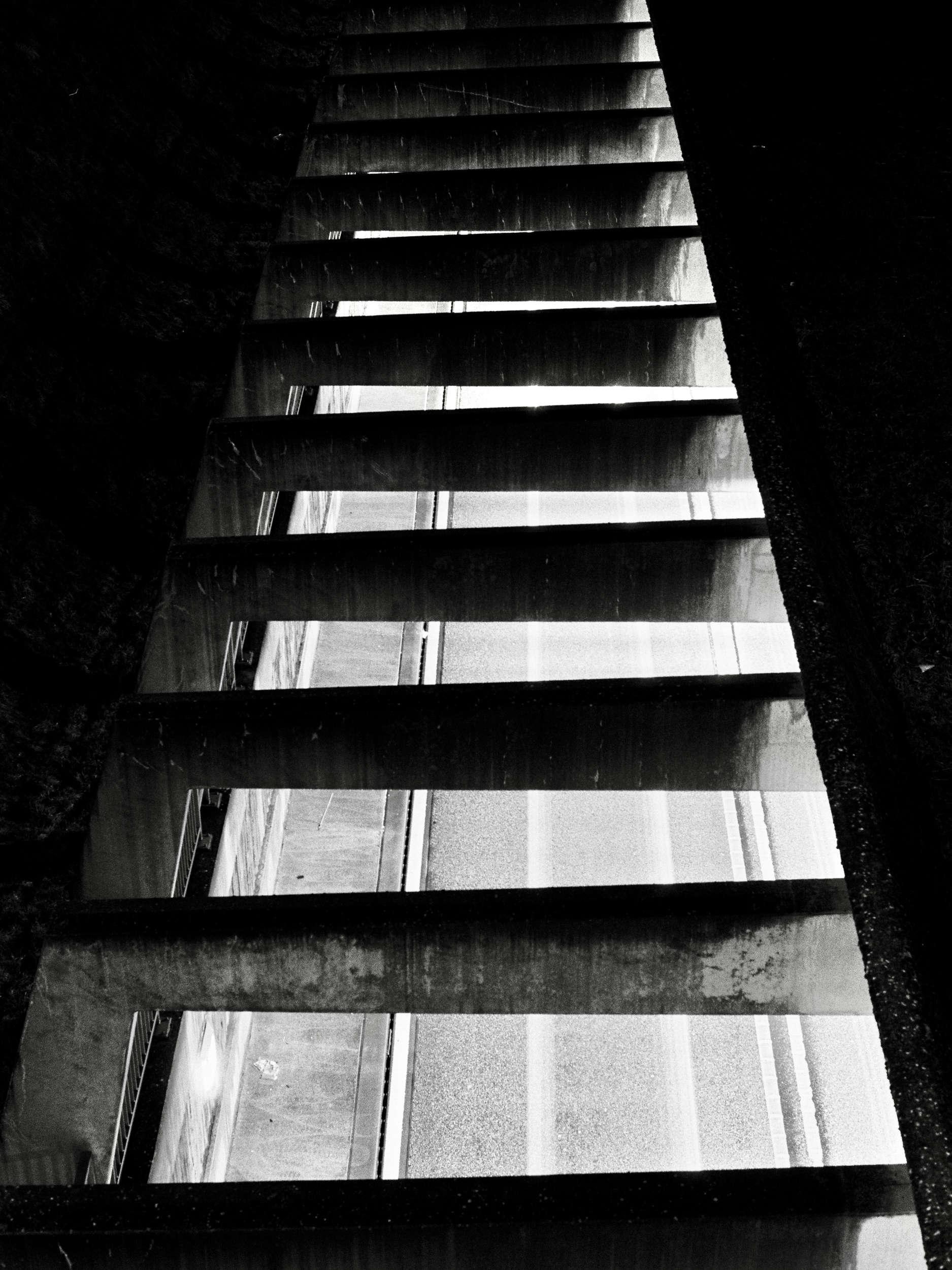 In Wehr. Monochrome Light Trail