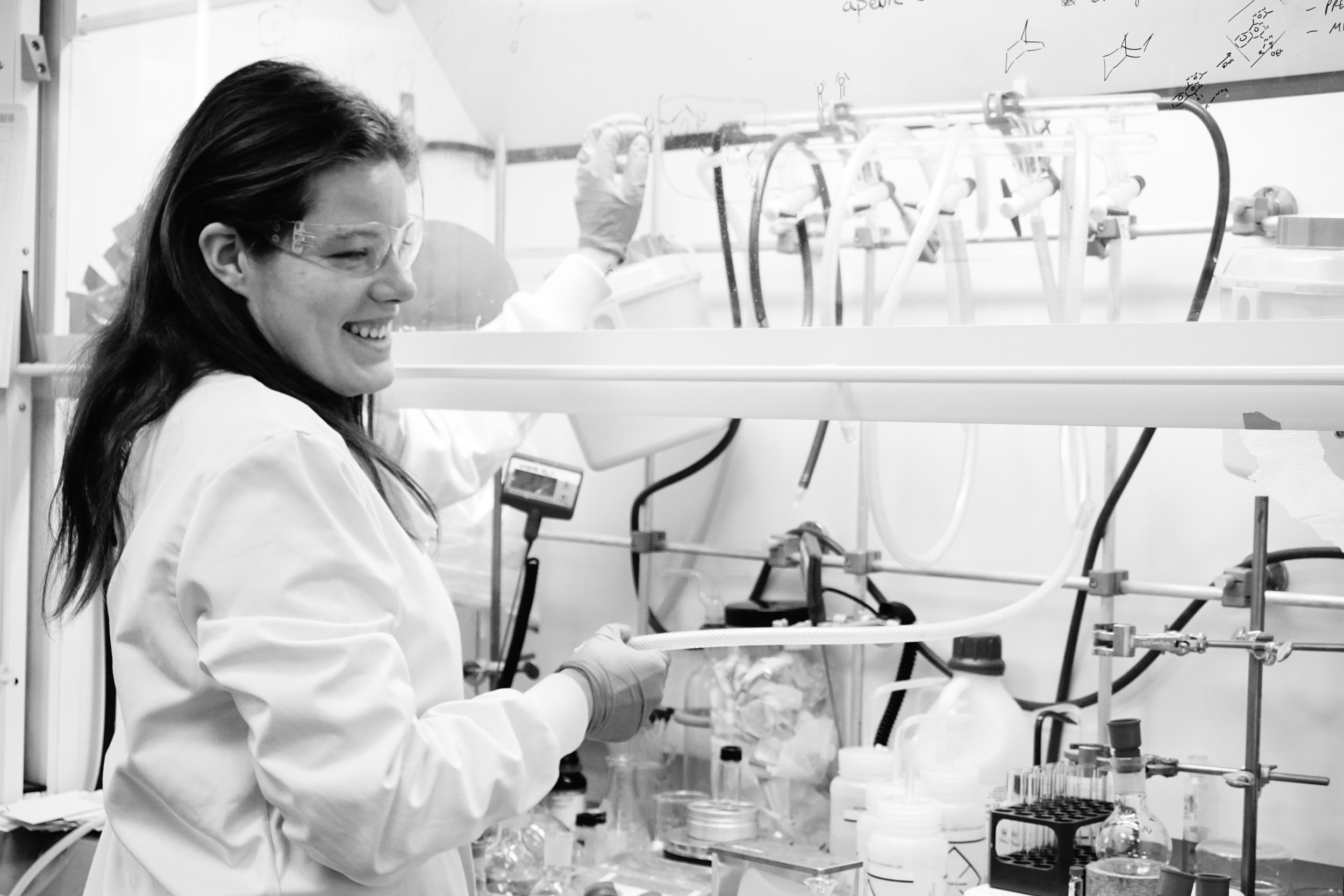 Miranda Wright   Miranda completed her DPhil in August 2018 on the design of covalent inhibitors of KDM5. She recently began working at Vertex Pharmaceuticals.