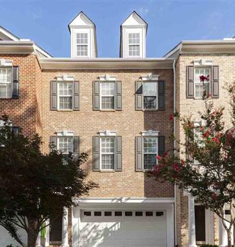 Luxury town home in Cary - SOLD!!! -