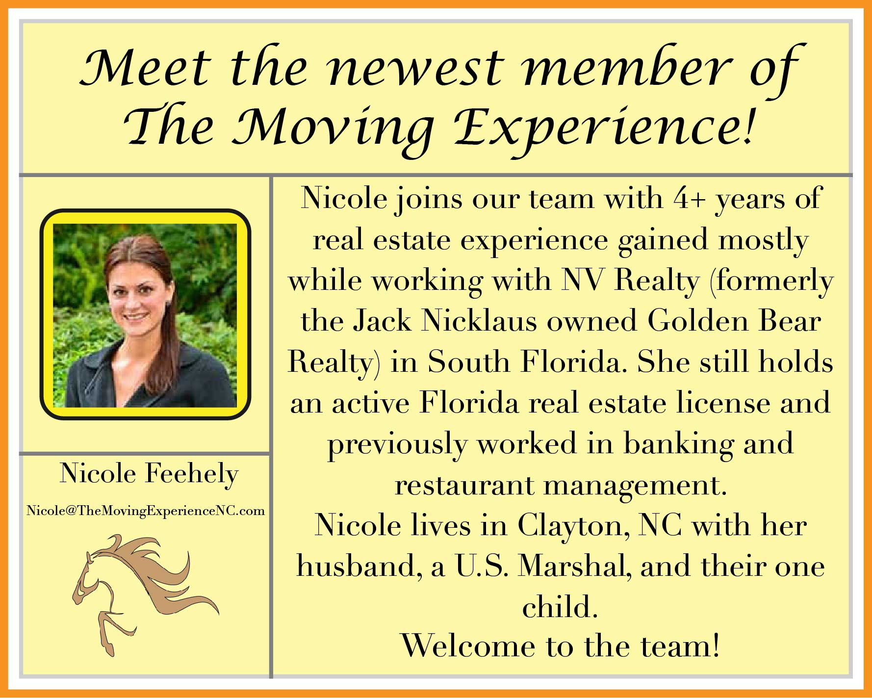 Meet Nicole Feehely!