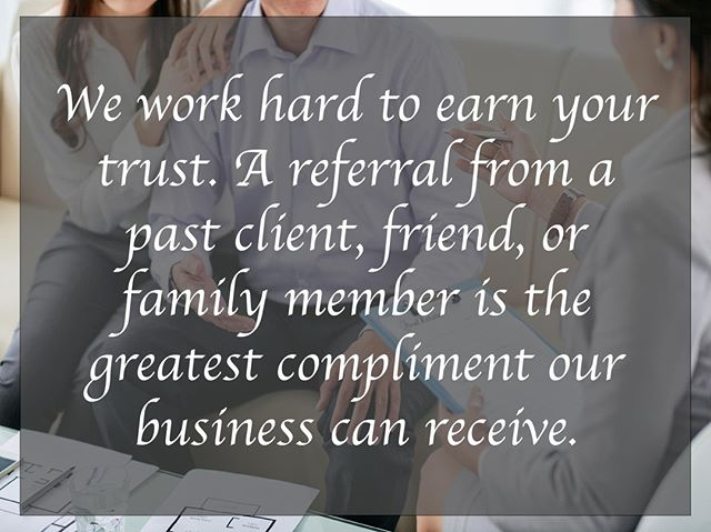 An independent real estate brokerage is like all other small businesses across America. We grow based upon our ability to foster relationships and transition past clients into long term relationships. The best way to say thank you or to help support our growth is through a personal referral - that is the best compliment I could ever receive.  If you know of anyone looking to buy or sell a home across North Carolina, I would greatly appreciate the opportunity to earn their trust and their business.  #SmallBusinessGrowth #EarnYourTrust