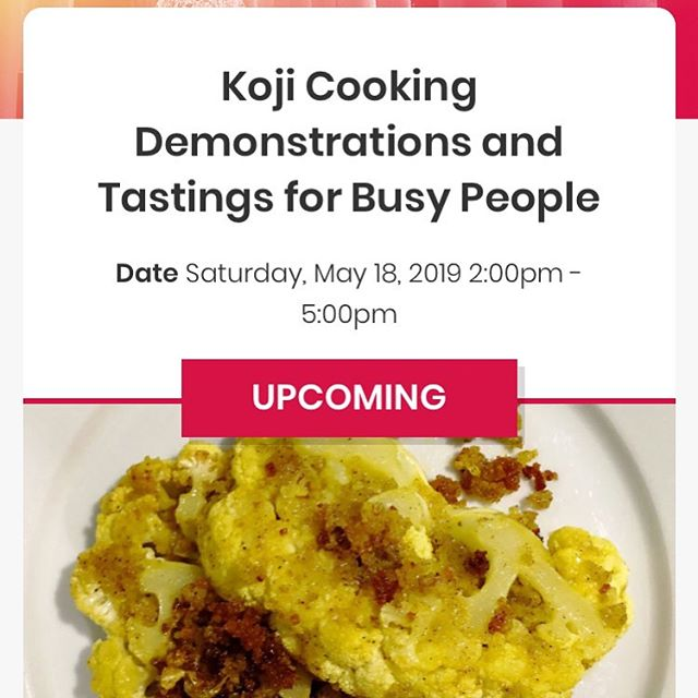Come join us at Resobox East Village for miso-making and miso-based cooking demonstration this Saturday.  https://resobox.com/event/koji-cooking-demonstrations-and-tastings-for-busy-people/  #fermentation #miso #japanesefood #japanesehomecooking #nyceats #eaterny #nycevents #eastvillage #healthyfood #cleaneating #vegan #plantbased #vegetarian #kimchi #shiokoji #koji #nutrition #foodismedicine