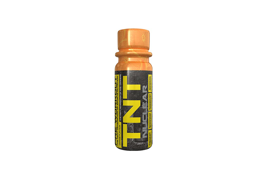 TNT NUCLEAR SHOTS - TNT Nuclear shots are a high intensity pre-training formula that is designed to give the user exactly what is needed before intense training sessions… muscle power, and high energy.KEY BENEFITSGreat Pre-workHandy Small Shot Size