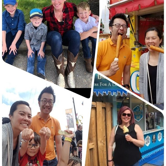 Hard to believe Stampede has been over for one week already!  Reminiscing great memories our team had- Stampede breakfast, trying new treats, annual corn dog indulgence and fun rides with kids.  Until next year!  #scopeddentistry #yyckids #yycmoms #yycdads #yycfamily #yycfamilyfun #calgarymoms #raisingcalgary #calgaryschild #calgarystampede