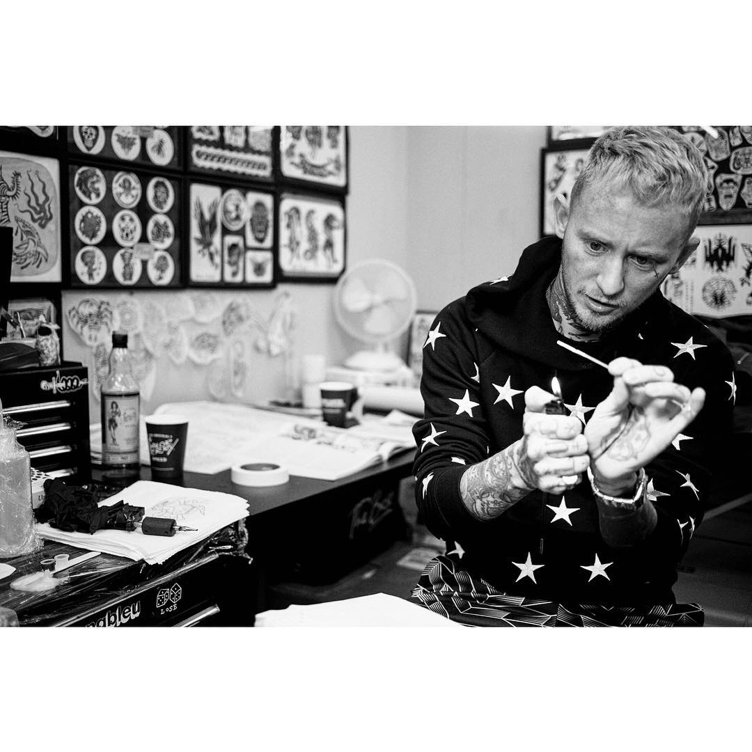Frank Carter from Sailor Jerry