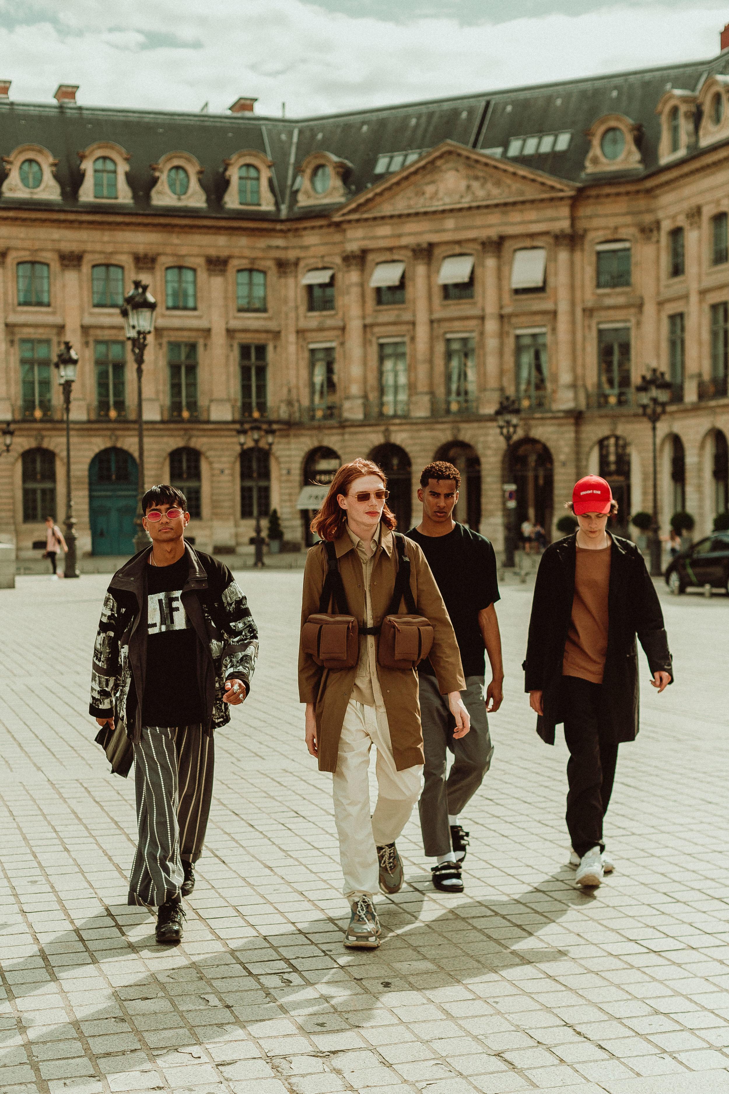 PAUSE Japanese Brands in Paris Editorial